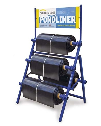 large pond liner roll
